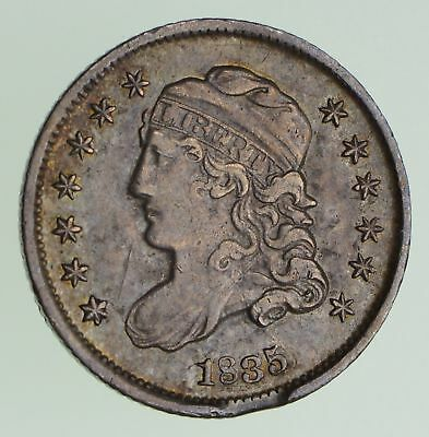 1835 Capped Bust Half Dime - Circulated *7198