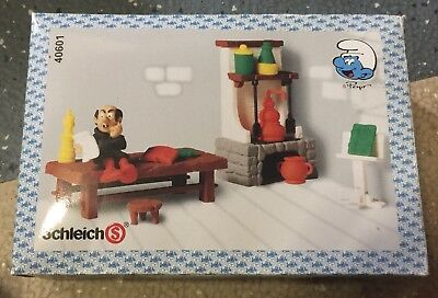 Schleich Smurfs Gargamel's Lab #40601 Peyo Creations Action Figure Play Set *New
