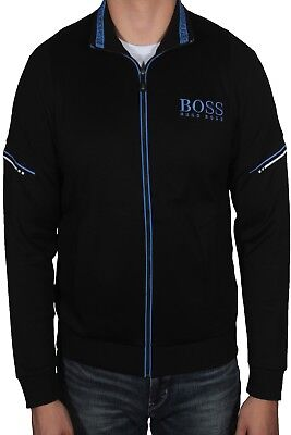 ddcf29b5df377 HUGO BOSS MEN'S Saggy Hoodie Sweatshirt Jacket Zip Up Logo 50387166 ...