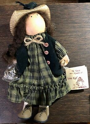 Lizzie High Ladie and Friends Doll 1994 Marisa Valentine Sunflower Seeds Garden
