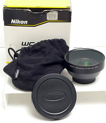 Nikon WC-E80 Wide Angle Converter Lens NEW for Coolpix