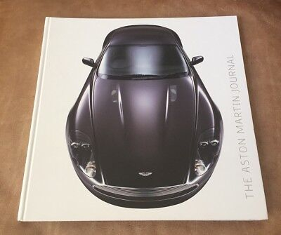 Limited Edition Aston Martin Journal 192-Page Book