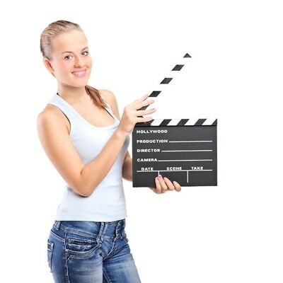 Clapper Board Slate  Director Video Clapboard Shooting props TV Film Movie