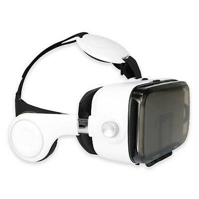 Hype I-FX Virtual Reality Headset with Built-In Stereo Earphones, iPhone/Android