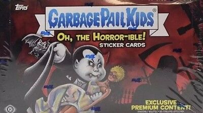 2018 Garbage Pail Kids Oh The Horrible Sealed Collector Edition Pack  Lot of 5