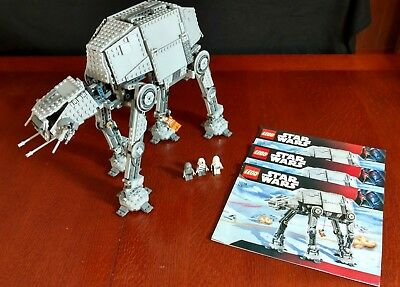lego star wars motorized walking imperial at at set 10178 open box rh picclick com