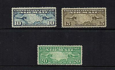 Usa   1926  Air ...set Of 3... Mint Hinged ....( 2 Scans )