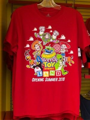 NEW Disney Parks Toy Story Land Adult Unisex Opening Day T-Shirt XL X LARGE NWT