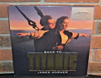 BACK TO TITANIC - Soundtrack, Ltd/500 Import 180G 2LP CLEAR VINYL Foil #'d NEW!