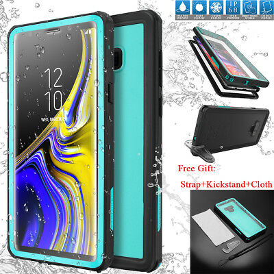 For Samsung Galaxy Note 9 Slim Waterproof Shockproof Dirt Proof Case Full Cover