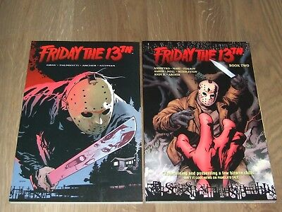 Friday The 13th TPB (2007-2008 DC/Wildstorm) Volumes 1 & 2 (complete set)