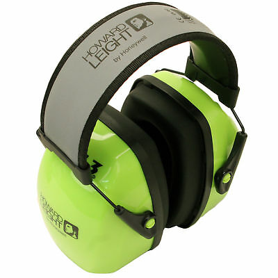 Howard Leight Leightning Hi-Visibility L3 Bright Over-The-Head Earmuffs NRR 30