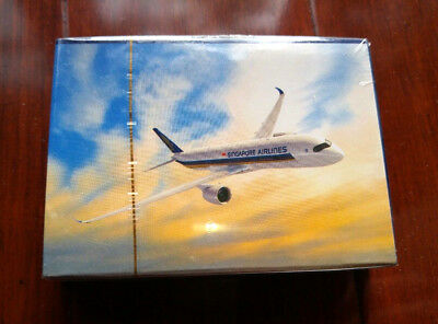 SINGAPORE AIRLINES Playing Cards New Airplane Experience SQ 1Day Ship