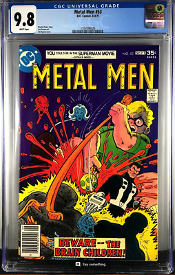 Metal Men #53 Cgc 9.8 Dc Bronze Age