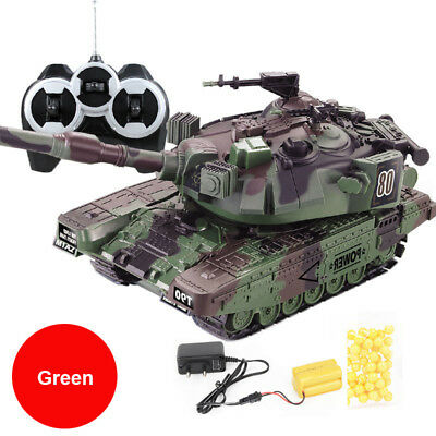 Brand New Military War RC Battle Tank 1:32 Scale Toy Tank  - Ideal XMAS Gift