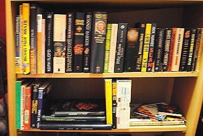 Job lot of  42 x mixed books all genres Hardback and Soft-back
