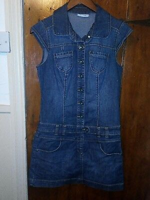 Vintage Clockhouse Ladies Demin Dress Size 8s