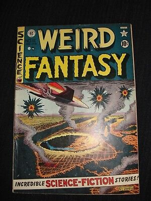 E C COMICS WEIRD FANTASY No 11 1952 v/f 7.5