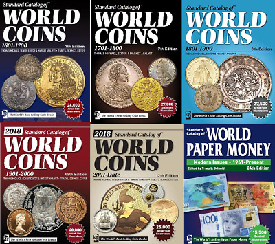 NEW! (2018) George S. Cuhaj Catalogus Coins and Banknotes