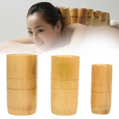 Suction Cup Traditional Chinese Bamboo Acupuncture Therapy Massage Cupping Sets