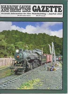 Narrow Gauge & Short Line Gazette Heft Jan/Feb 2013 / NG&SG