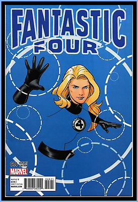 Fantastic Four #644 (2015) Doc Shaner 1:15 Invisible Woman Variant Marvel 9.4 Nm