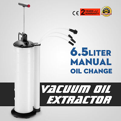 Manual 6.5L Oil Changer Fluid Extractor Pump Tank Remover Best Local Brand New