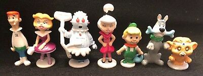 Hanna Barbera The Jetsons Vintage Applause PVC 7 Figure Lot Set Rosie George