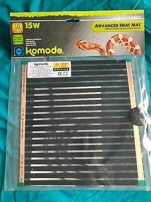 Komodo Advanced Snake Heat Pad Mat Vivarium Reptile Lizard Gecko Heat Pad