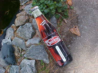 Cheerwine Thermometer  Sign soda advertising metal