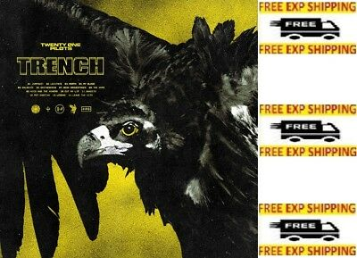 Trench by twenty one pilots Audio CD Fueled by Ramen Alternative 075678655265