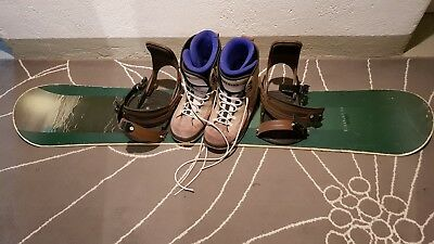 Snowboard (fanatic pope) + Boots (Nitro) gutes Anfänger Paket