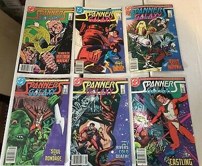 Spanners Galaxy #1-6 Complete 1984 Mini Series Set DC Comic Books NM Condition
