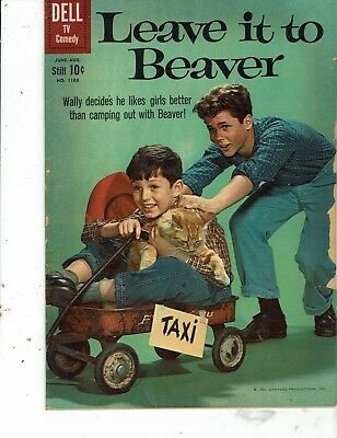 Dell Leave It To Beaver Four Color Comics 1103 Vf-