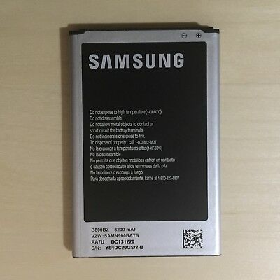 Genuine Original OEM Samsung Galaxy Note 3 Battery 3200mAh