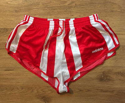 Adidas Vintage Shiny Glanz Shorts Sprinter, retro Hose | Gr. D6 | top Zustand