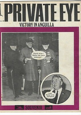 PRIVATE EYE Magazine No. 190. 28th March. 1969.