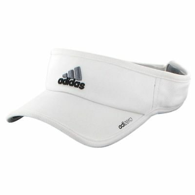 Adidas Adizero Unisex Visor White/Black/Grey Adjustable One Size New W/Tags!!!