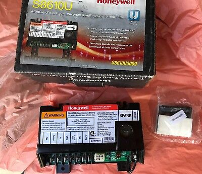 Honeywell Universal Intermittent Pilot Ignition Module S8610U3009