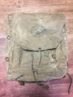 Vintage Boy Scouts of America National Council Backpack Haversack #573 USA