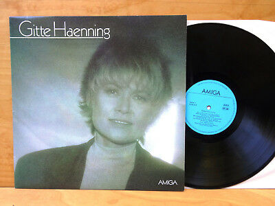 LP Gitte Haenning Amiga 856412 Near MInt !!