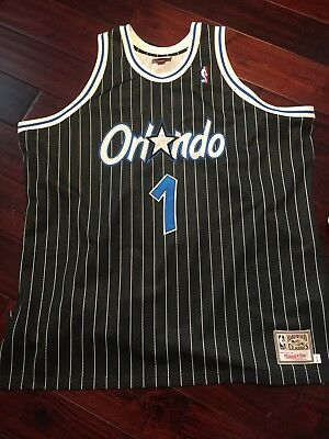 pretty nice 2549a 971b2 ANFERNEE Penny Hardaway Orlando MAGIC Mitchell   Ness Throwback Authentic  Jersey