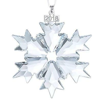 Swarovski Crystal Christmas Ornaments Star Snowflake Ornament Annual Edition New