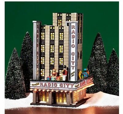 Department 56 Christmas in the City Radio City Music Hall RARE Mint Condition!