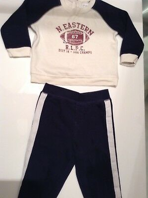 Pre-Loved 100% Genuine By Ralph Lauren, Baby Boy Tracksuit. 9 Months