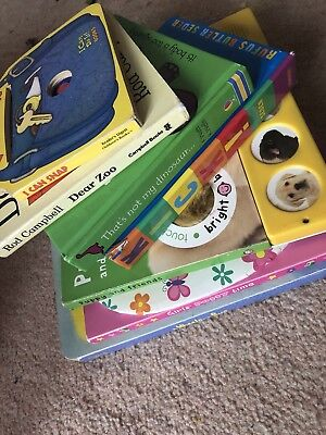 7x Toddler/ Baby Interactive Noisy Board Books That's Not My/ Dear Zoo Bargain!