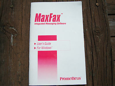 MaxFax User's Guide