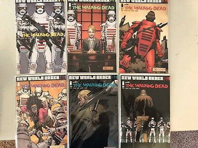 Walking Dead #s 175 to 180 NM New World Order Complete Story All 1st Printings