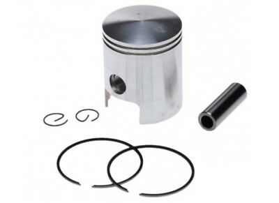 Piston For Minarelli Am6 Engines With 65 Cc Bore Kit Aprilia Two Rings