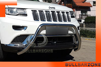 Jeep Grand Cherokee Wk2 2010+ Tubo Protezione Medium Bull Bar Inox St Steel!